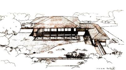 03-Projeto do pavilhão - 06.1953