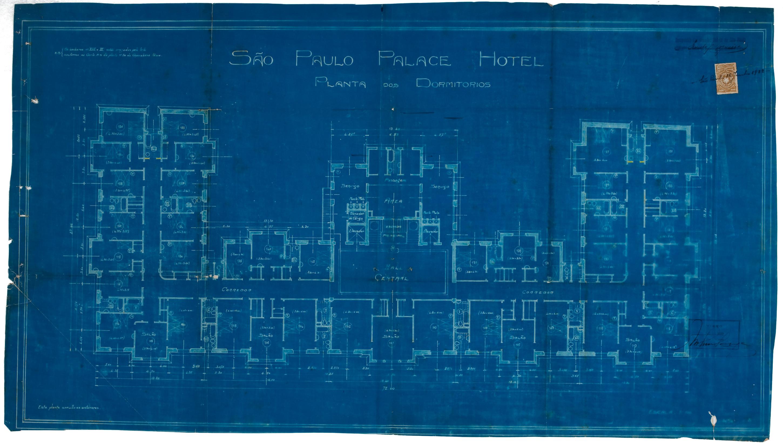 Esplanada Hotel, 1922 - andar-tipo
