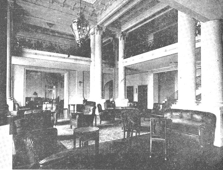 Esplanada Hotel - 1923 - hall